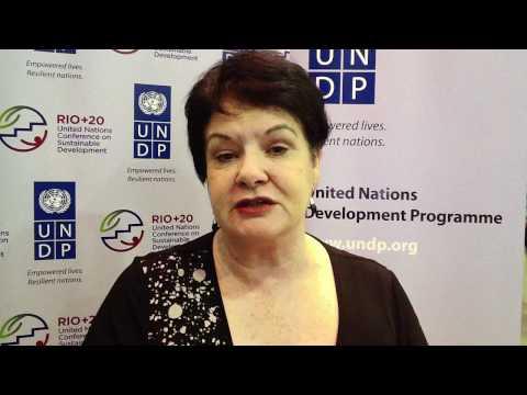 Rio+20 Conference: Sharan Burrow, General-Secretary, International Trade Union Confederation