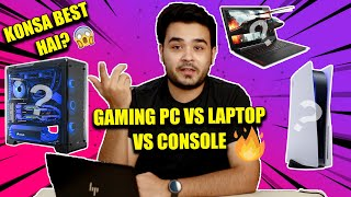 Gaming PC vs Console vs Gaming Laptop   Which Should You Buy? [HINDI]
