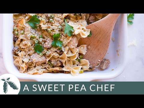Skinny Tuna Noodle Casserole   A Sweet Pea Chef