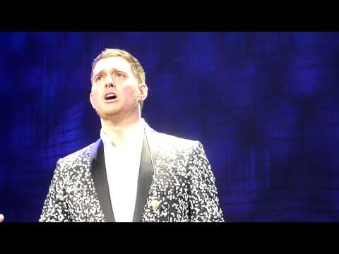 Michael Bublé  A Song For You A Cappella   @ Paris Bercy 11012014 HD