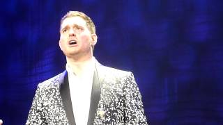 Скачать Michael Bublé A Song For You A Cappella Live Paris Bercy 11 01 2014 HD