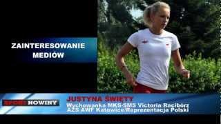 Justyna Święty - wywiad przed Igrzyskami Olimpijskimi w Londynie