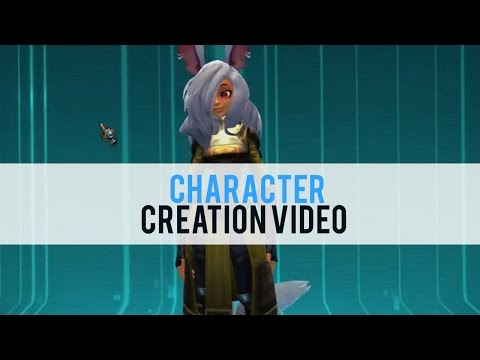 Wildstar Character Creation - First Look HD