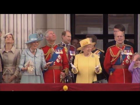 Regina elisabetta ii del regno unito buckingham palace e for La regina anne casa