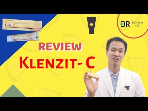 REVIEW Klenzit C - Đây là cách dùng ĐÚNG cho đánh bay MỤN VIÊM- MỤN MỦ  Dr Hiếu