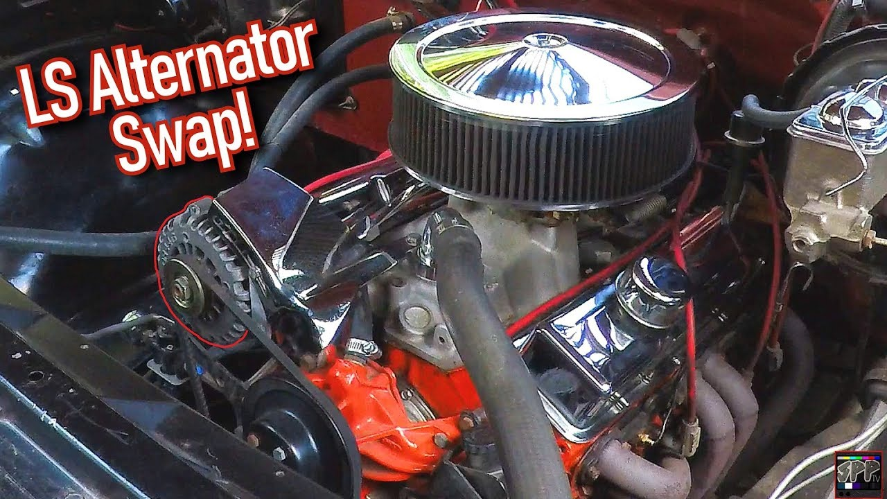 LS Style Alternator Upgrade for Small Block Chevy - Gen 1 SBC | Wiring +  Fabrication Complete How-To - YouTube
