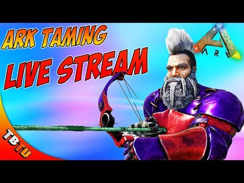 ? ARK TAMING SPREE! CHOOSE WHAT WE TAME! Ark: Survival Evolved E37 [Live Stream] thumbnail