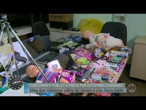 Funcionário público é preso por estuprar sobrinhas | Primeiro Impacto (13/08/18)