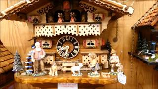 MORE THAN A LARGE COLLECTION OF CUCKOO CLOCKS AT MT TAMBORINE