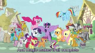 My Little Pony Theme Song [With Lyrics] - My Little Pony Friendship is Magic Song