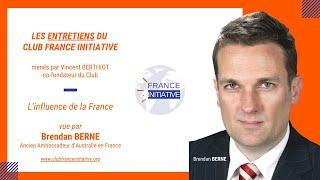 Les Entretiens du CFI : Brendan BERNE, ancien Ambassadeur d'Australie en France