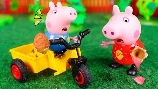 Peppa Pig Toys 🐷 Funny moments with Peppa Pig! 😀😆