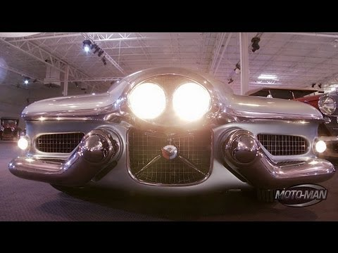 Cadillac CTS-V Coupe & Buick Y Job Concept Car at the GM Heritage Center with Bob Lutz