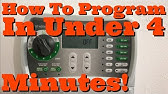 Rain Bird SST Sprinkler Timer Installation and Programming