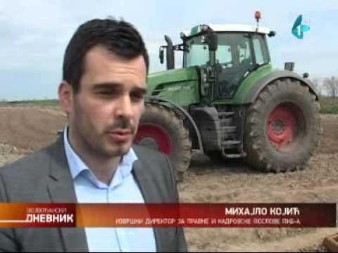 Radnici PKB u Čenti sprečili ulazak zakupaca na njive