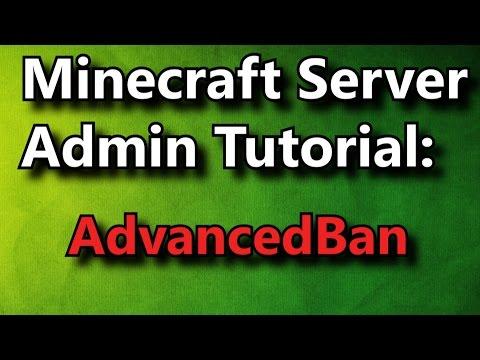 Minecraft Admin How-To: AdvancedBan [FREE]