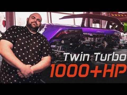 Lamborghini Huracan Performante TwinTurbo на 1000+ сил готов!