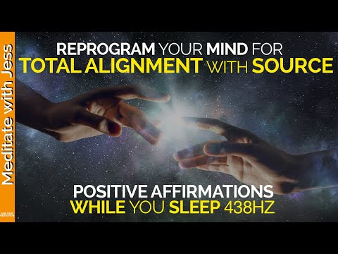 connect-to-source-positive-affirmations-while-you-sleep.-sleep-hypnosis.-reprogram.-gratitude-438hz