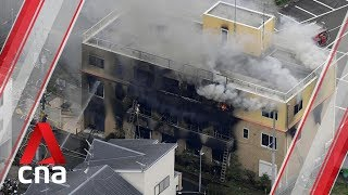 Suspected arson attack at Japan animation studio KyoAni