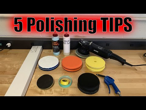5 Basic TIPS for POLISHING paint to PERFECTION!