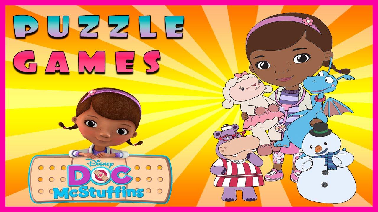 Surprise Show!!! Puzzle - Doc McStuffins. Собираем пазл - Доктор Плюшева новый мультик пазл!!!