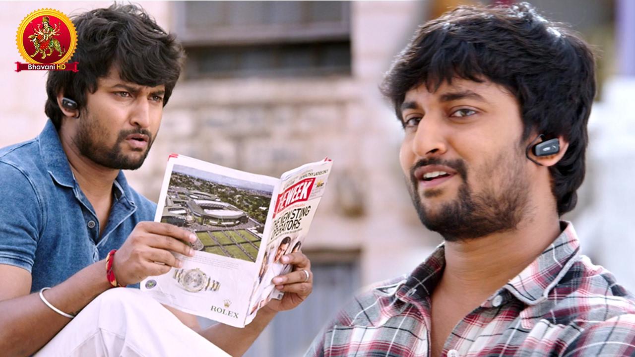 Download Hero Nani Best Scenes   Latest Telugu Movie Scenes   Bhavani HD Movies