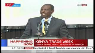 DP William Ruto outlines Kenya's export strategies