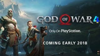 New 2018 game God of war 4 official trailer and my new video link in description
