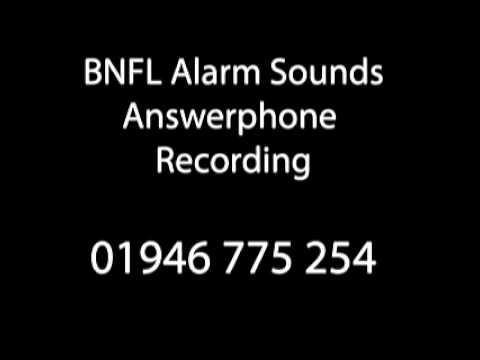 Sellafield Alarm Sounds