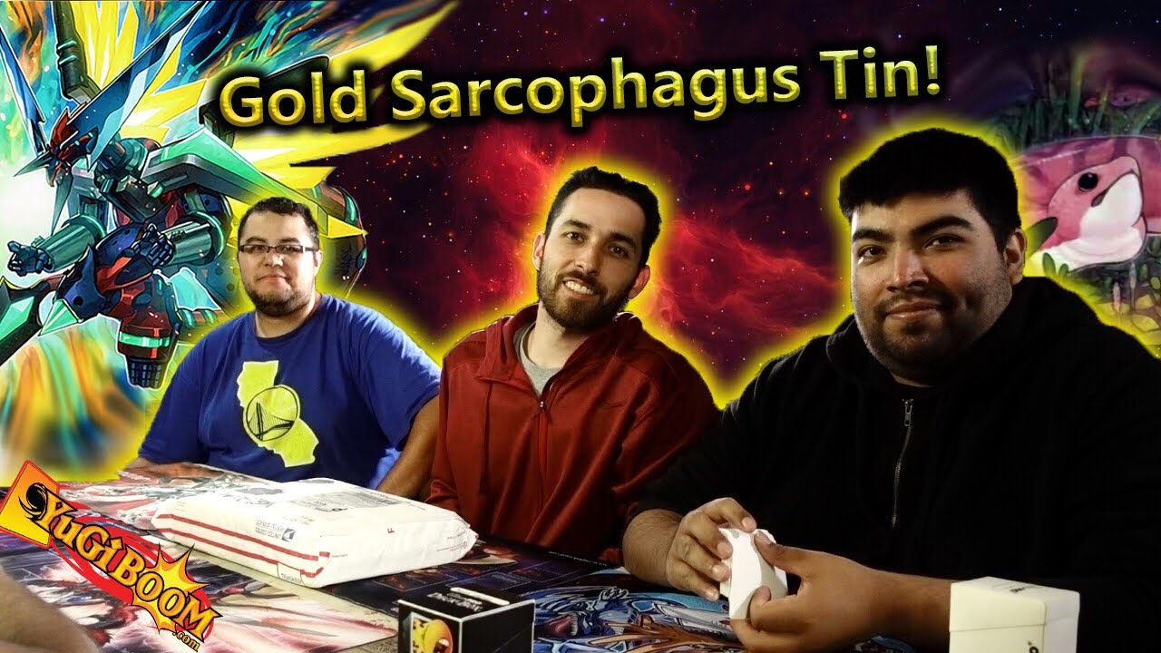 2019 Gold Sarcophagus Tin 3X Case MEGA Opening! Yu-Gi-Oh!