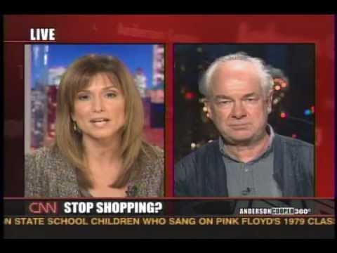 Adbusters - Kalle Lasn on CNN for Buy Nothing Day