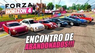 1º ENCONTRO DE CARROS ABANDONADOS!! PARTE 1 - FORZA HORIZON 4