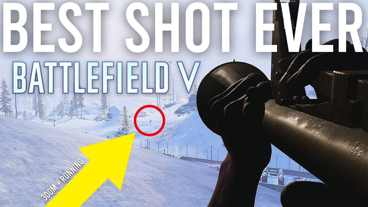 Bester Schuss aller Zeiten in Battlefield 5 + video