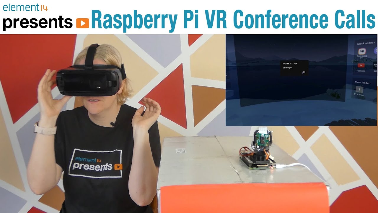 #RaspberryPi 4 VR Conference Call Assistant