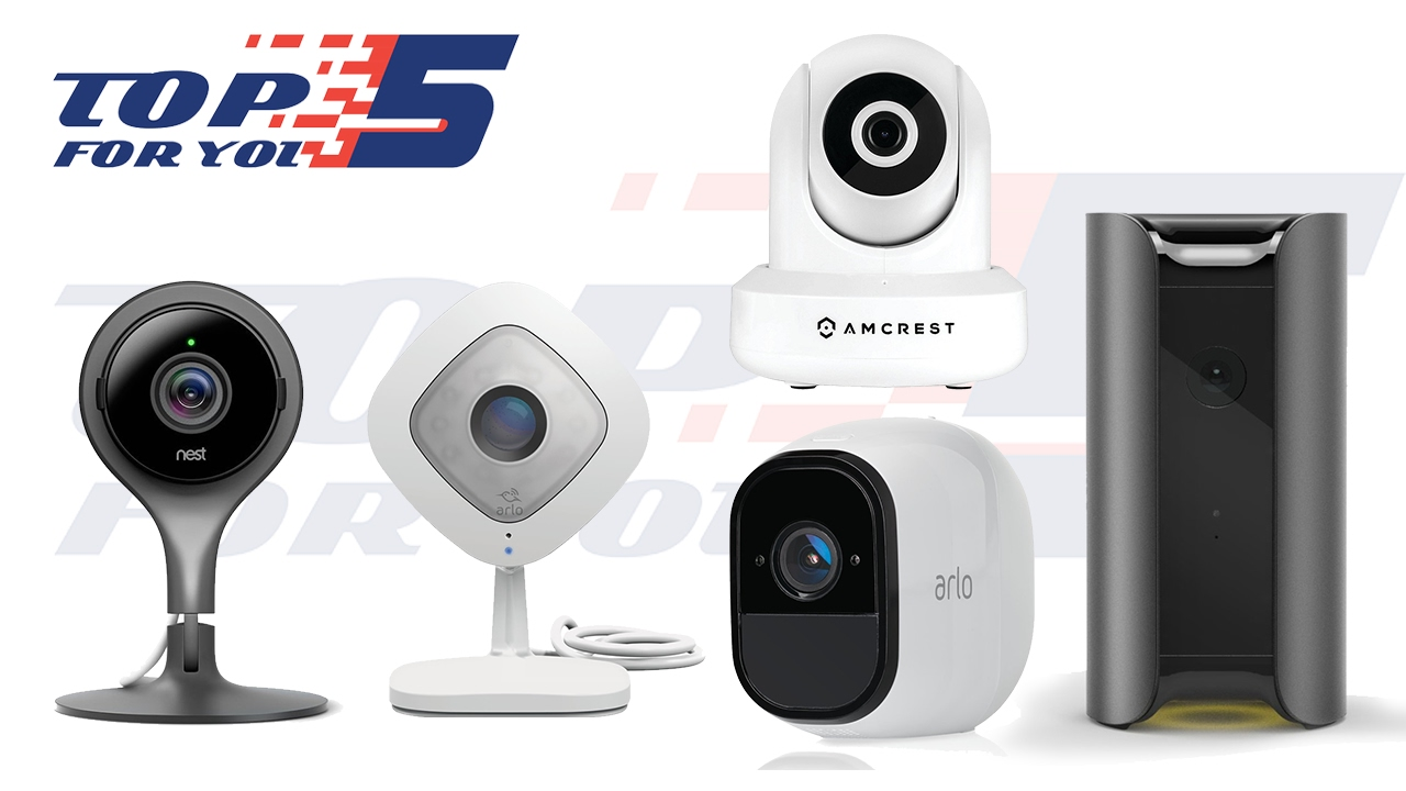 Top 5 best security cameras for home use 2017 youtube for Best security for your home