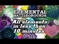 All elements in less than 10 minutes