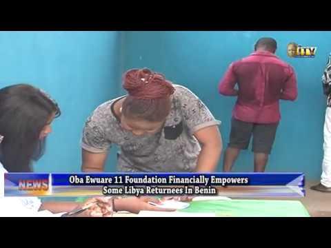 Oba Ewuare 11 Foundation empowers some Libya returnees