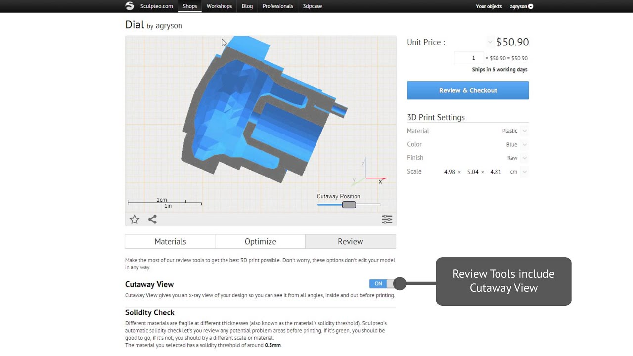 3 new features in CAD software for 3D printing material testing