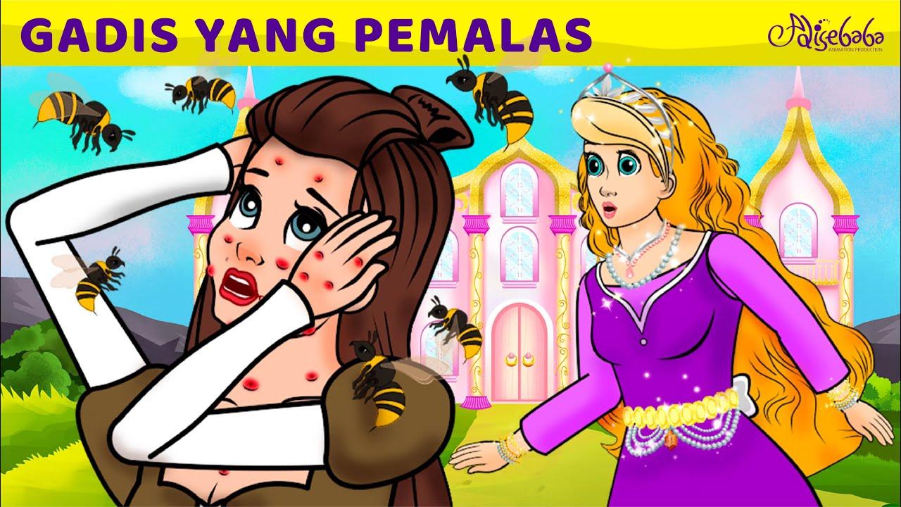 Download Gadis Yang Pemalas | Kartun Anak Anak | Bahasa Indonesia Cerita Anak