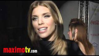AnnaLynne McCord on Sexually Assaulted Women October 9, 2010
