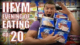 IIFYM EVENING OF EATING!! Ep. 20