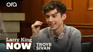 Troye Sivan's Cringeworthy Secret Talent | Larry King Now | Ora.TV