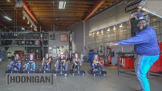 Video [HOONIGAN] DT 051: Female Racer Crazy Cart Battle #hooniganswanted download MP3, 3GP, MP4, WEBM, AVI, FLV Oktober 2018