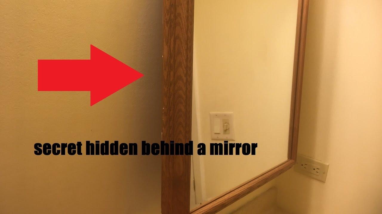 Secret Found Behind Mirror In My Bathroom