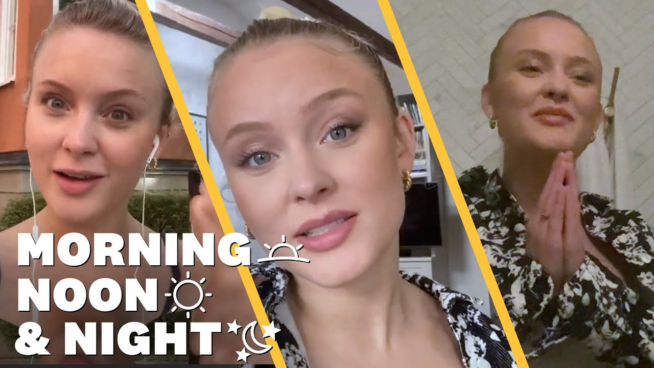Zara Larsson Takes Us Inside Her Daily Workout | Morning, Noon & Night | Women's Health