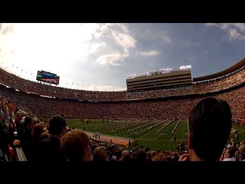 GoPro - Fighter Jets Fly Over Neyland Stadium before the Tennessee VS Troy game on 11/3