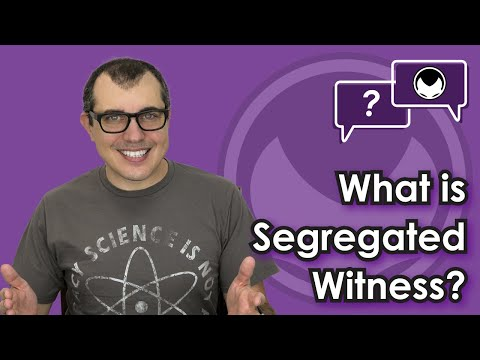 Bitcoin Q&A: What is Segregated Witness?