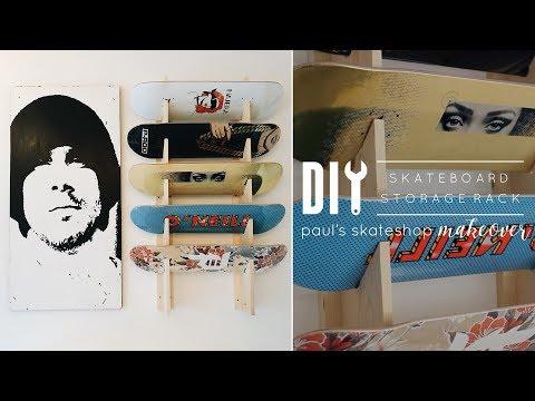 DIY Skateboard Rack | Paul's DIY Skate Workshop Pt. 2