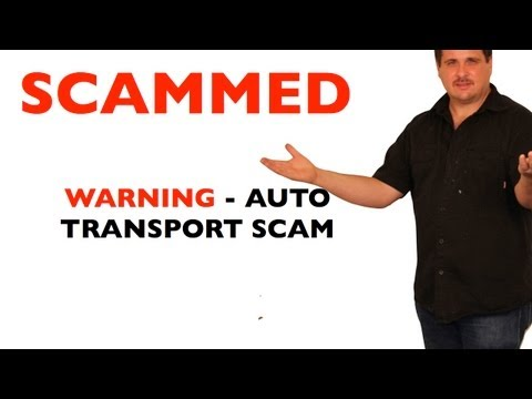 Beware of Auto Transport Scam - Universal Transport LLC