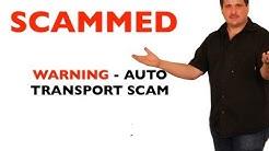 Beware of Auto Transport Scam - Universal Transport LLC